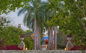 Exterior at Hacienda San Jose, luxury hotel in Mexico