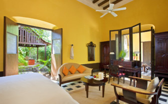 Luxury Suite at Hacienda Uayamon, luxury hotel in Mexico
