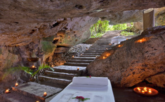 The spa at Hacienda Temozon, luxury hotel in Mexico