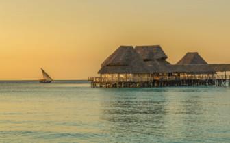 Tanzanian Coast Jetty