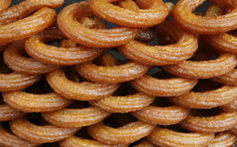 Stack of Pretzel's in Turkey