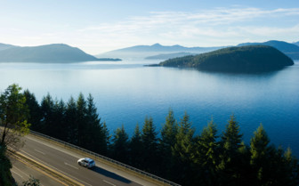 Sea to Sky Highway Route 99 in British Columbia