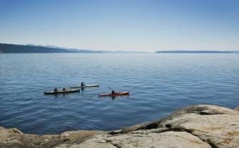 Kayaking in British Columbia