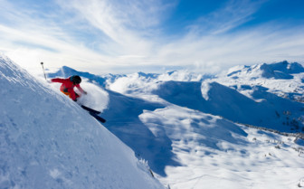 Professional Skiing in Whistler Mountain