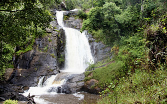 Waterfall in the National Park