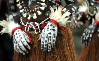 Papua New Guinea Tribal Paint