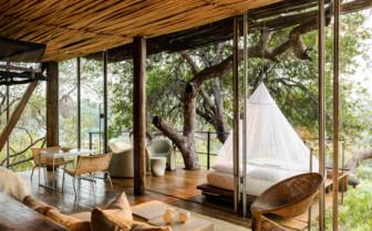 Lounge Area at Singita Lebombo