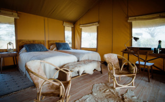 Guest tent, Ngorongoro Crater