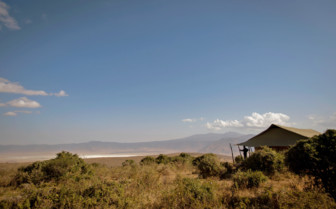 View over the Ngorongoro Crater