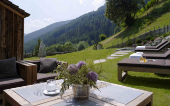 San Lorenzo Mountain Lodge garden