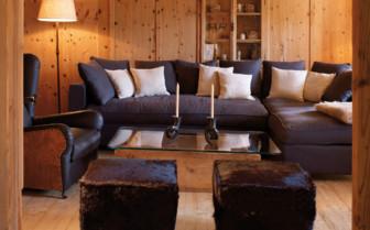 Tea room at White Deer San Lorenzo Lodge