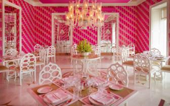 Dining room at Rajmahal Palace