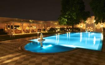 Swimming pool at Rajmahal Palace