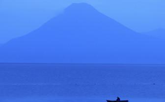 Fisherman on Lake Atitlan