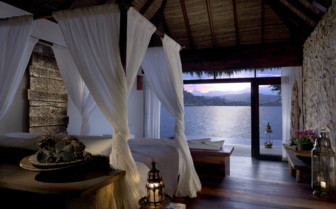 Luxury bedroom at Song Saa, luxury hotel in Cambodia