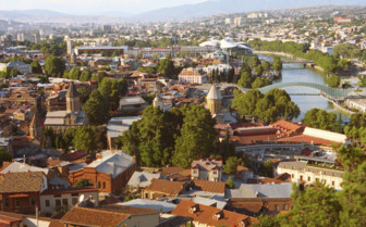 Tbilisi Aerial Shot