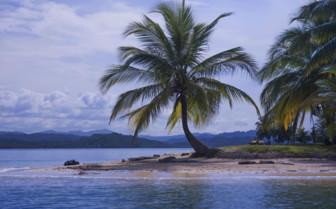 San Blas Islands at Sunset