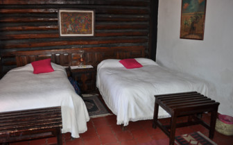 Beds at Sierra Lodge