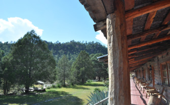View from Sierra Lodge