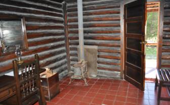 Interior at the lodge