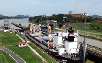 Canal Lock in Panama