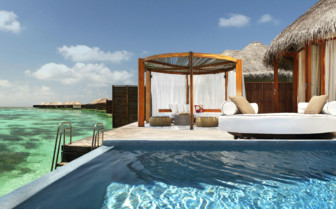 Pool Suite Views at the resort, Maldives