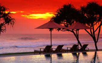 Sunset at the Fortress, Sri Lanka