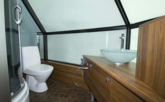 Bathroom at the Levi Igloos