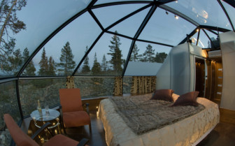 The Bed at the Levi Igloos