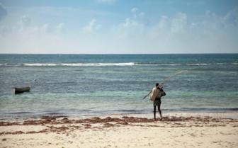 Fisherman at Saruni Samburu