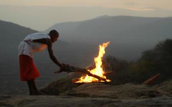 Fire Pit at Saruni Samburu