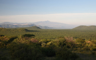 Mountain View from Saruni Samburu
