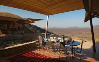 Outdoor Dining at Saruni Samburu