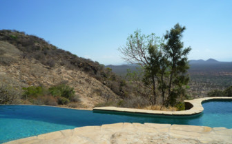 Swimming Pool at Saruni Samburu