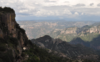 Views of the Copper Canyon