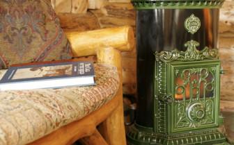 Fireplace at Winterlake Lodge