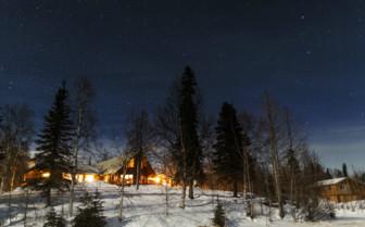 Night Stars at Winterlake Lodge