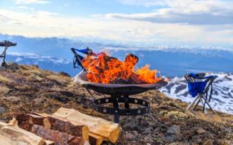 Fire Pit at Winterlake Lodge