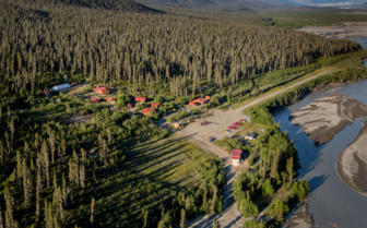 Aerial View of Ultima Thume Lodge