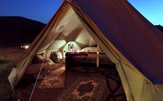 Beachfront Camping at Al Bustan