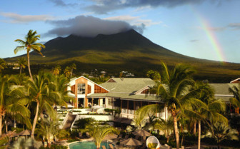 Exterior of the Four Seasons Nevis