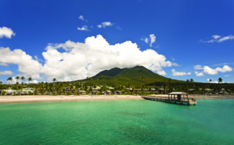 The Beach at the Four Seasons Nevis