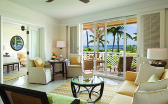 Lounge Room at the Four Seasons Nevis