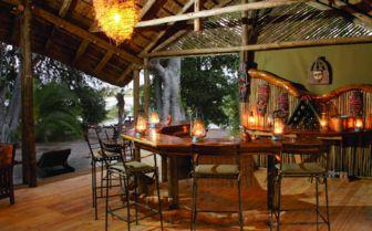 Bar at Pom Pom Camp, The Okovanga Delta
