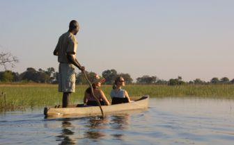Canoeing the Okavango Delta