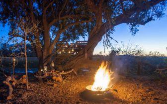 Fire Pit at Pom Pom Camp