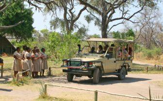 Jeep in Botswana