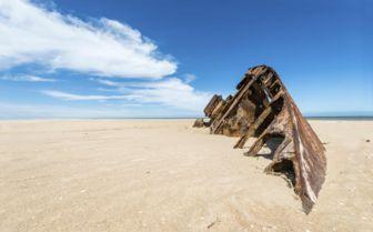 Beach in Uruguay