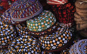 Colourful wares, Uzbekistan