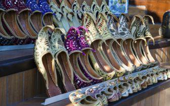 Shoes at the Market, Dubai